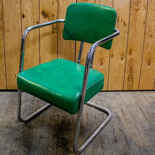 Green Salon Chairs