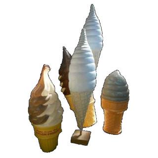Oversized Ice ceam Cones