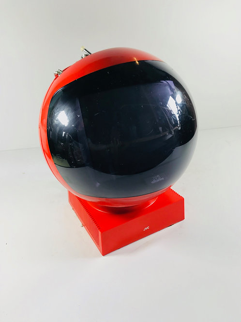 JVC Red Videosphere Television