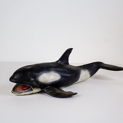 Killer Whale Model Figurine