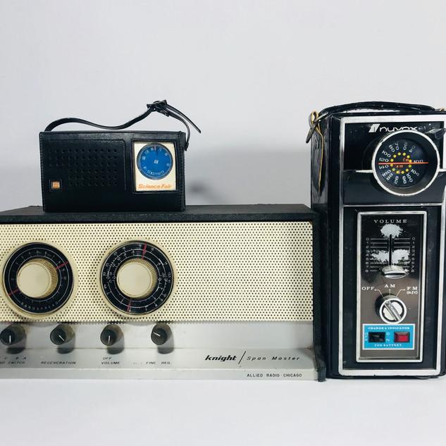 Science Fair (top left) Knight (bottom left) Nuvox (right) Radio