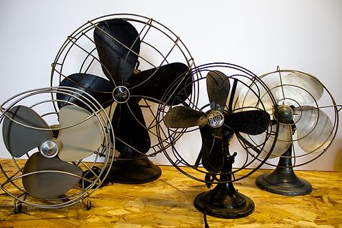 Vintage Tabletop Fans