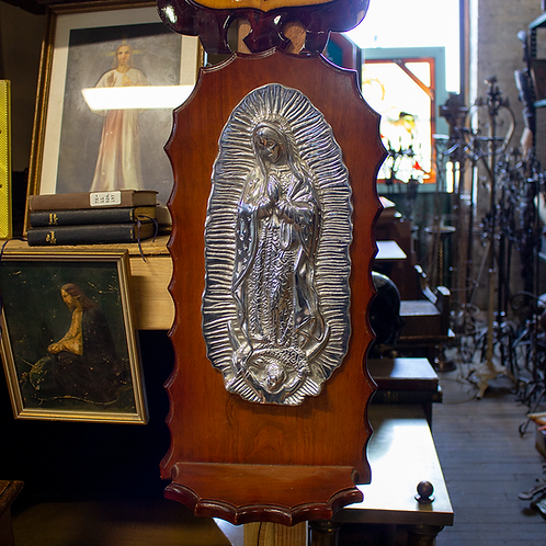 Virgin Mary Religious Wall Hanging