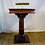 Thumbnail: Wooden Podium Maitre d' stand with light