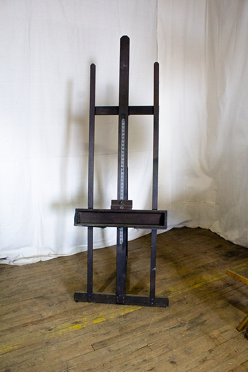 Dark Wood H-Frame Easel