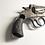Close Up of Damaged Pistol Handle