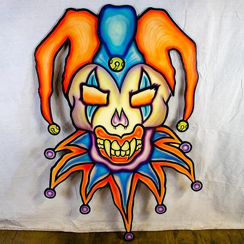 Evil Jester Cutout