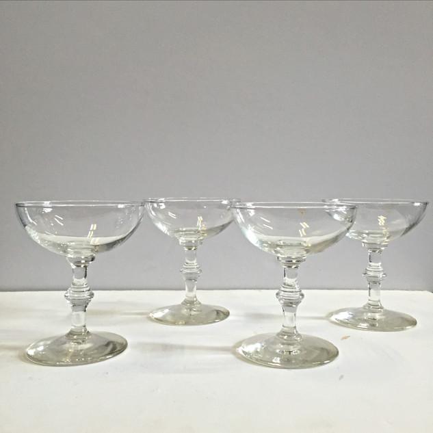 champagne glassware, stemware, drinkware