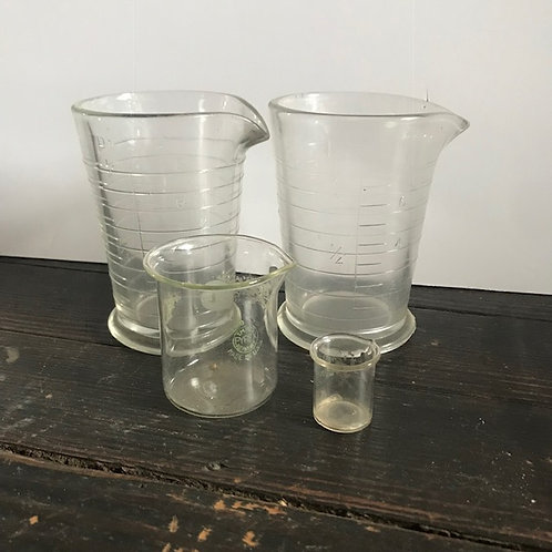Beakers and Chemistry Glass