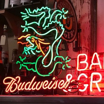 Budweiser Neons and Bar Lights