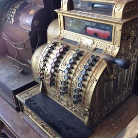 Gold Cash Register