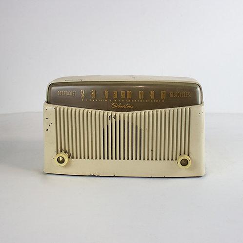 Silvertone Radio 1950s