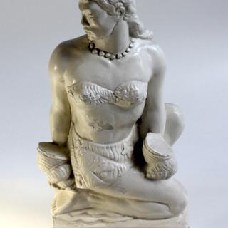 Tiki Woman Statue