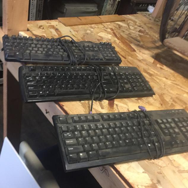 Black Computer Keyboards