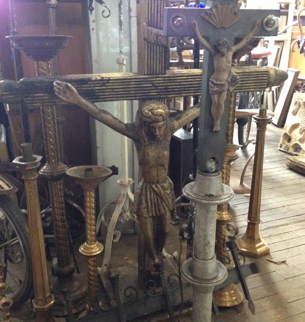 large crucafixes