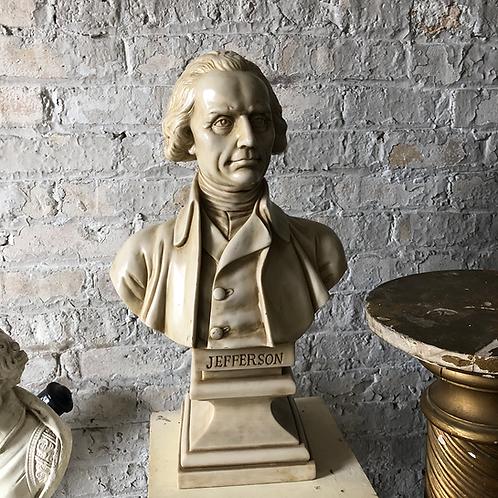 Thomas Jefferson Bust Statue