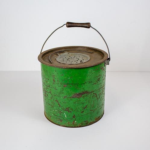 Green Minnow Bait Bucket