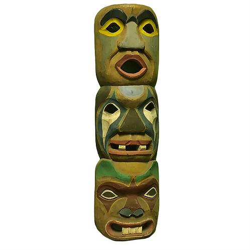 Wall Hanging Tiki Totem Pole