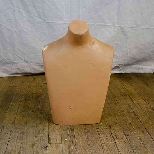 Male Bust Form Mannequin