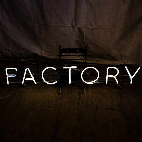 Factory Neon Sign