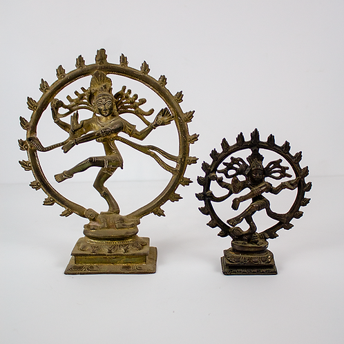 Hindu Dancing Shiva Figurines