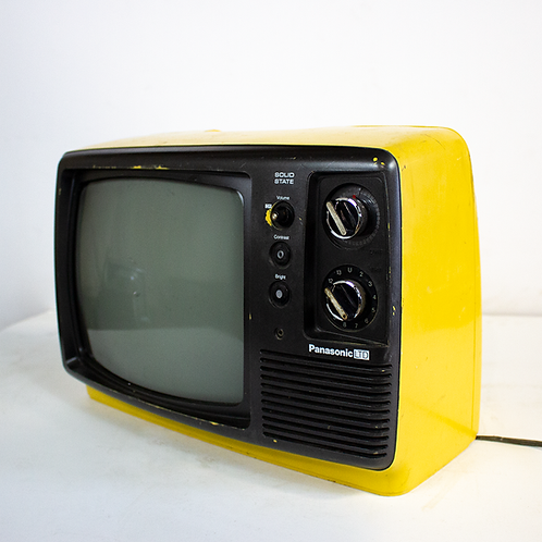 Panasonic Yellow 70's Television