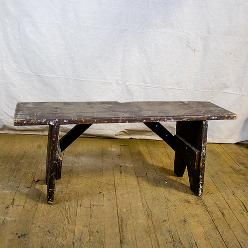 Rustic Brown Bench