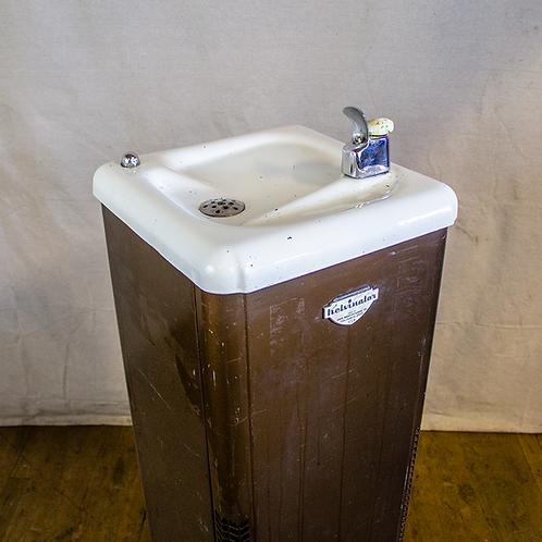 Brown Kelvinator Drinking Fountain