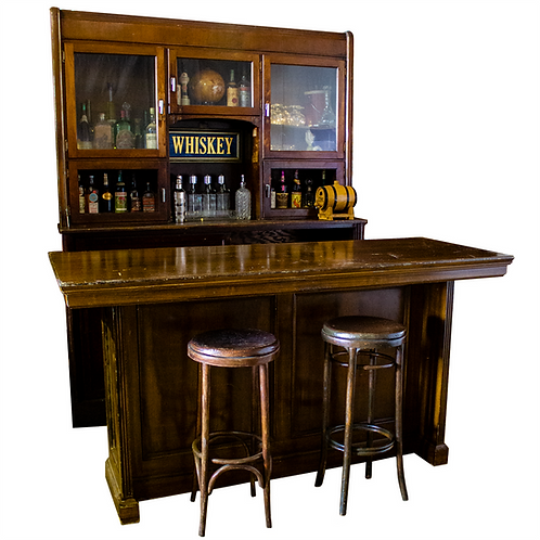 Full Back Bar & Bar Counter