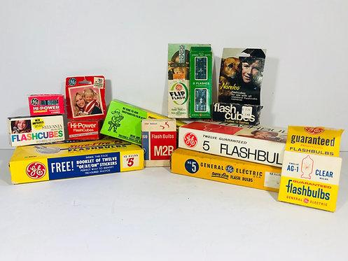 Vintage Camera Flashbulbs in Package