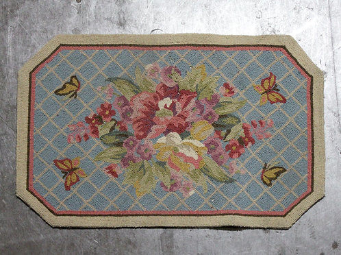 #17 Floral Butterfly Rug