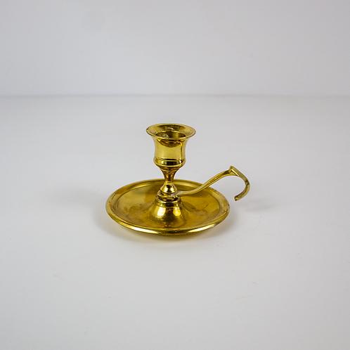 Shiny Brass Candleholder