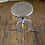 Thumbnail: Silver Metal Adjustable Stool