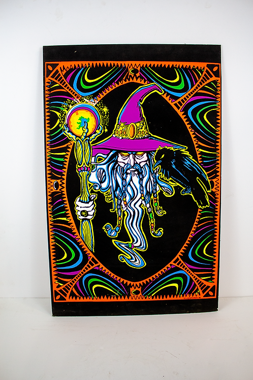 Wizard Psychedelic Poster