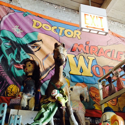 Dr Miracle Sideshow Banner