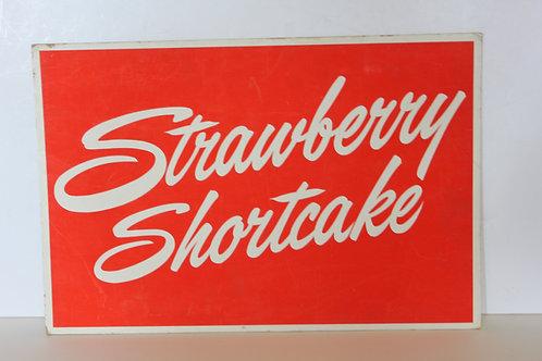 Strawberry Shortcake Diner Sign