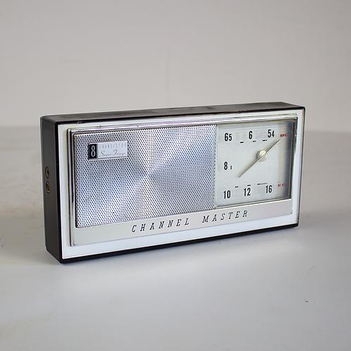 Channel Master 8 Transistor Clock Radio