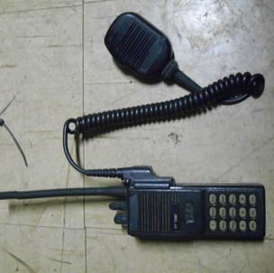 police walkie talkie