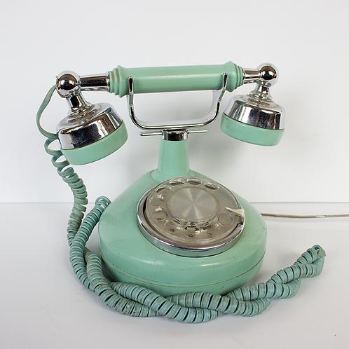Aqua Rotary Princess Telephone