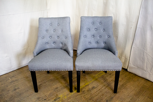 Grey Wingback Chairs