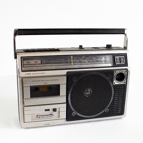 Panasonic Radio Cassette Boombox 1980s