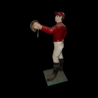 Vintage Jockey Statue