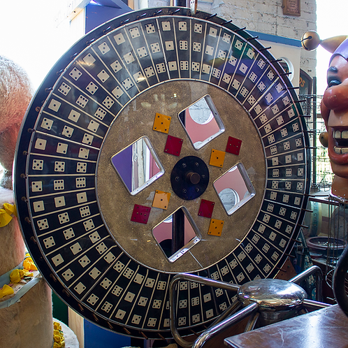 Giant Dice Game Roulette Wheel