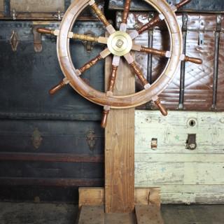 Ship Steeling Wheel