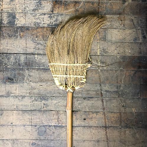 Broom with Long Bamboo Handle