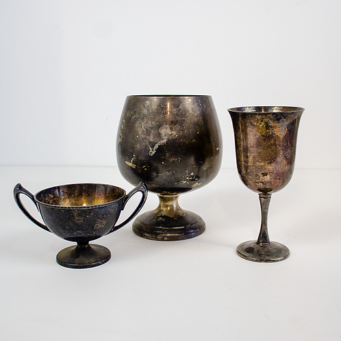 Tarnished Silver Drinkware