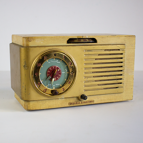 GE 508 Alarm Clock Radio 1950s