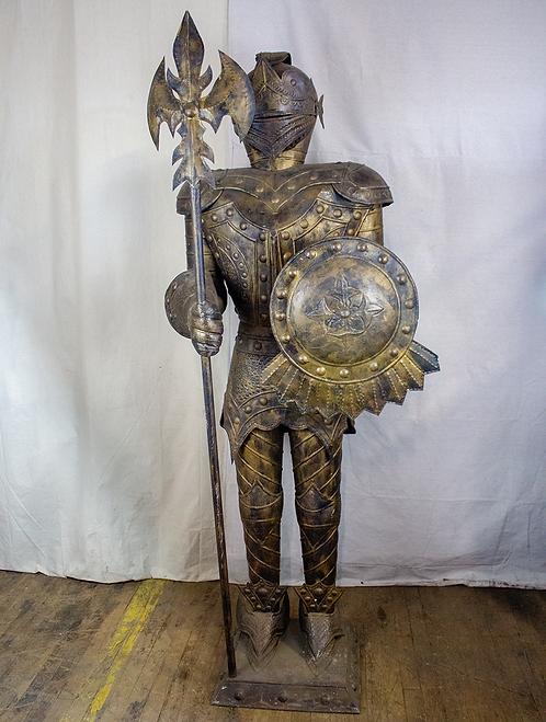 Bronze Knight in Armor