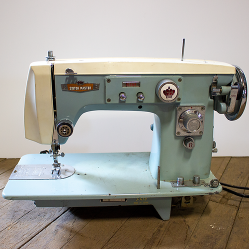 Blue Singer Sewing Machine