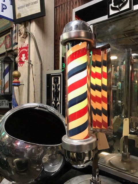 Light Up Barber Pole